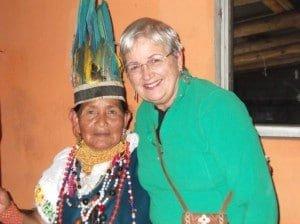 Ruth and Peruvian Shamana